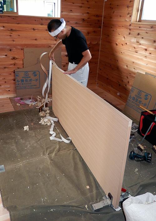 建具の建て込み02