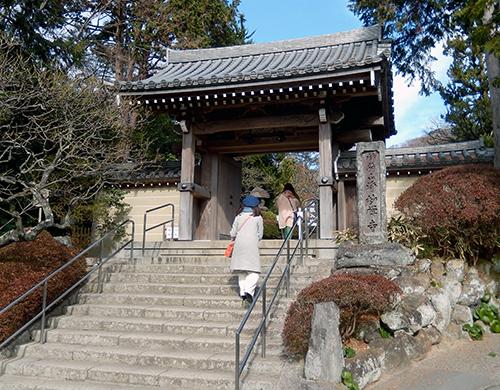 臨済宗浄妙寺山門