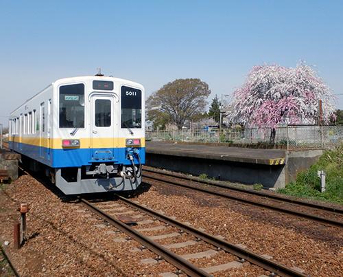 関東鉄道常総線戸頭駅
