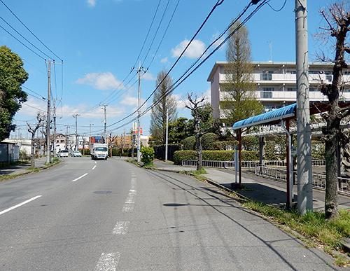 戸頭公園前バス停