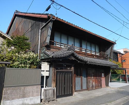 旧旅籠屋「伊勢久」丹羽家