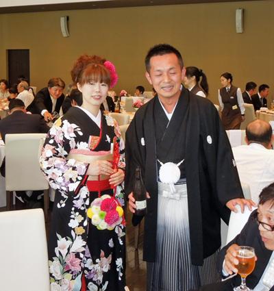 俊輔君と志津子さん