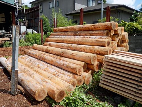 八溝杉原木