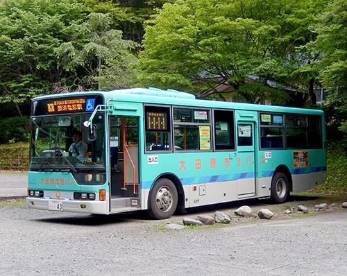 那須塩原駅行き市営バス