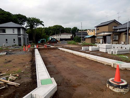 戸建て住宅用の区画