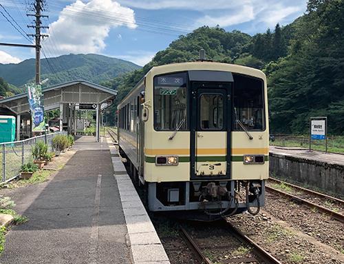 JR木次線上り始発列車