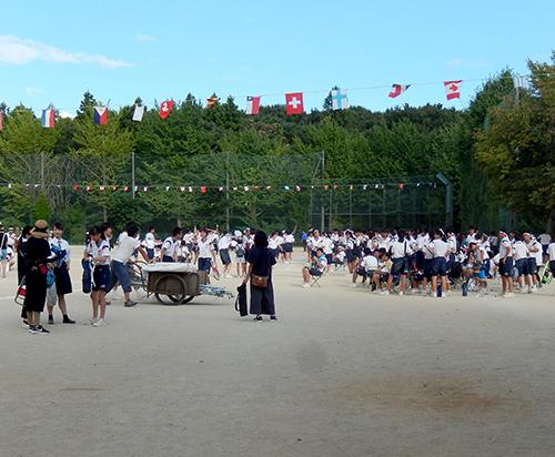 市立愛宕中学校運動会