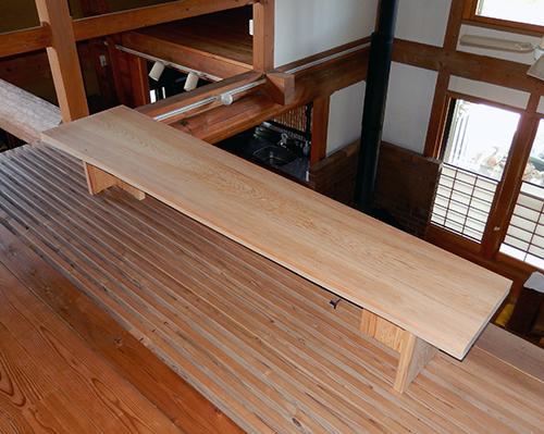 樹齢300年生天然ヒノキ座卓